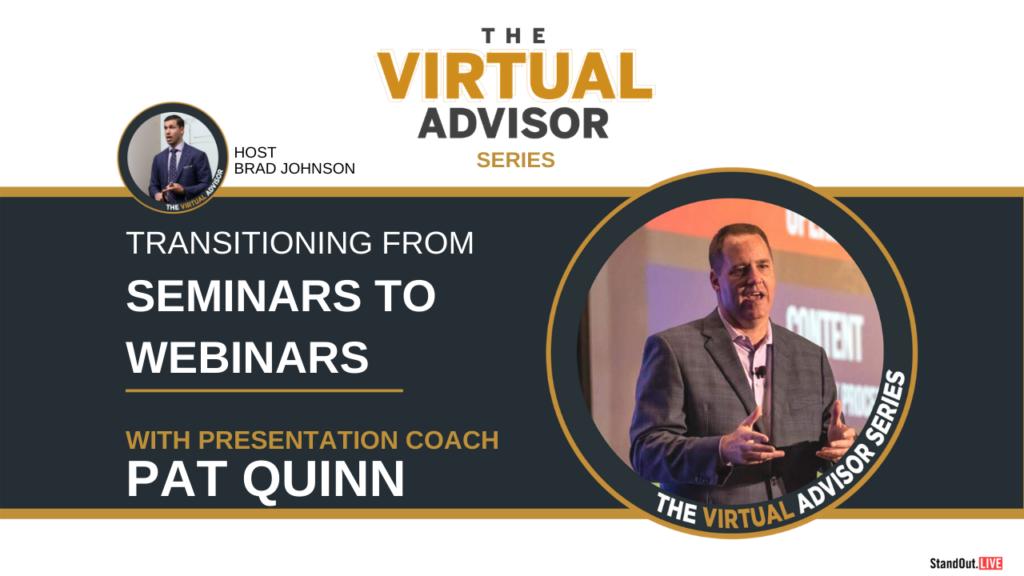 Virtual Advisor Pat Quinn