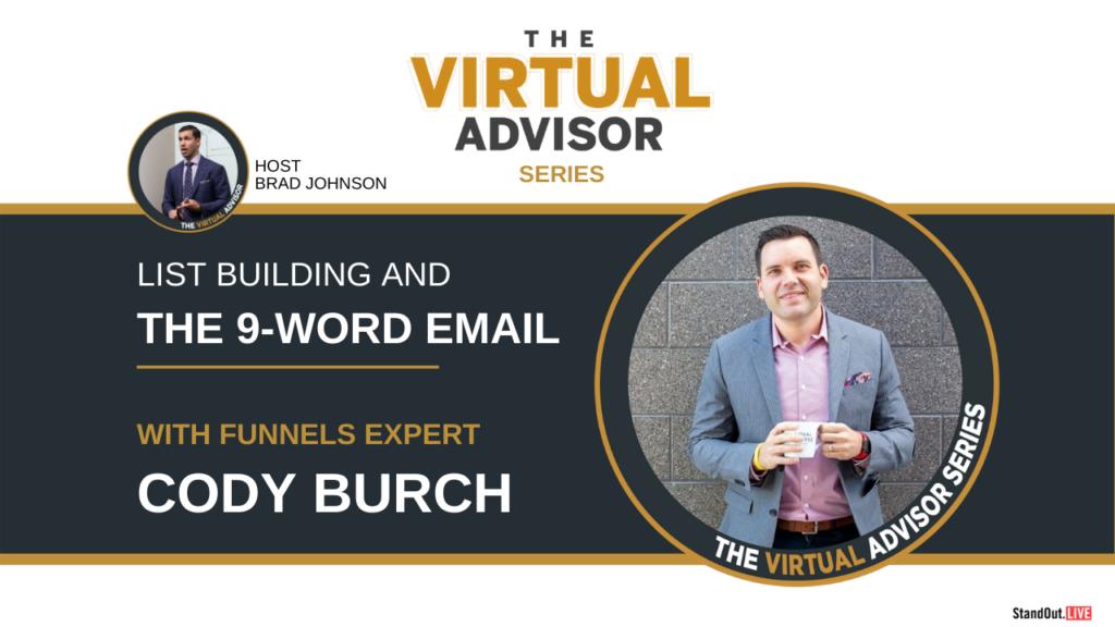 Virtual Advisor Cody Burch